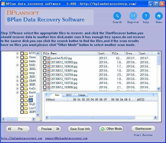 Water Panther PC partition data recovery full version